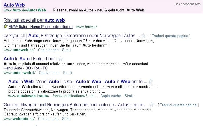 L'auto e Internet