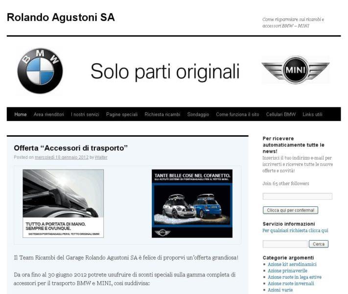 Ricambi auto Agustoni SA