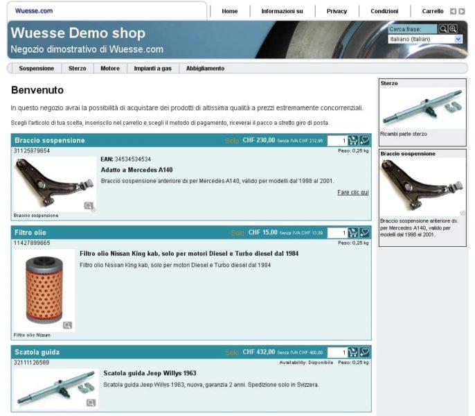 Demo E-commerce