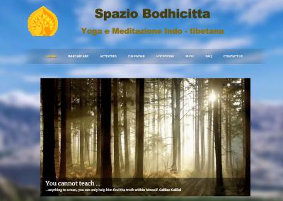 Sito Spaziobodhicitta.com Yoga