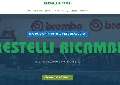 Sito Restelli Ricambi SRL