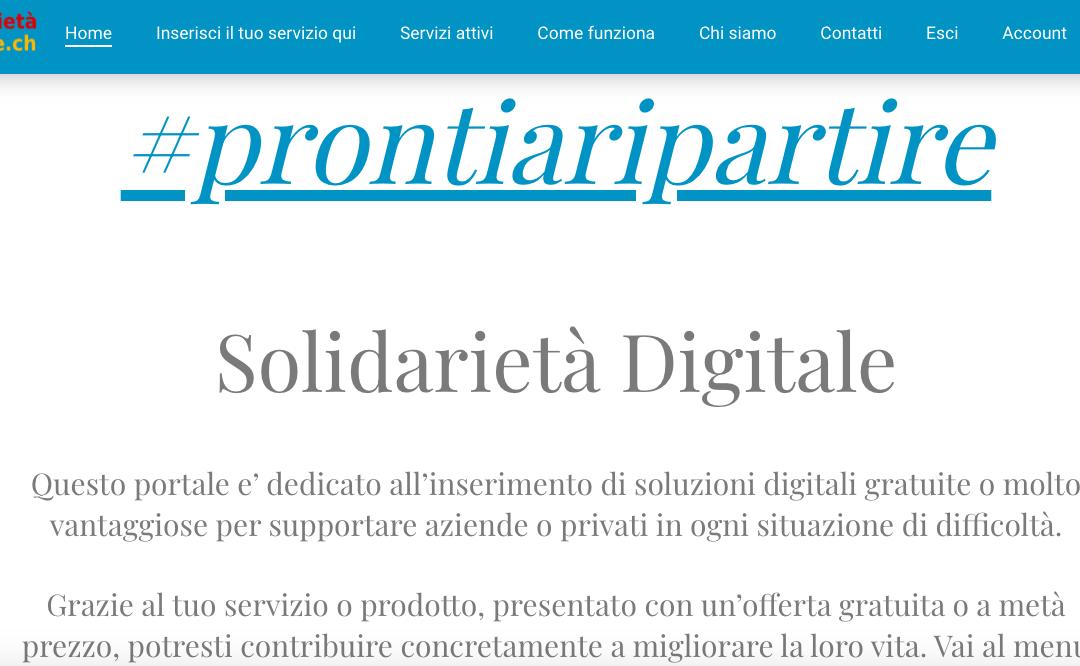 Sito Solidarietà Digitale.ch
