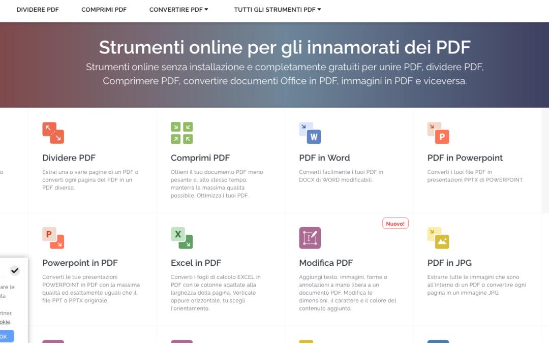 Creare e modificare PDF, è gratuito